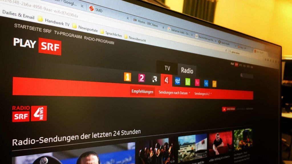 NoBillag will öffentlich finanzierte Online-Angebote nicht verbieten.